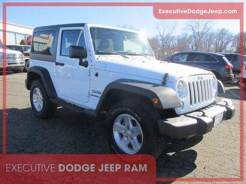 Certified Pre-Owned 2015 Jeep Wrangler Sport